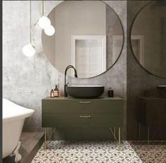 Beautiful Bathroom Mirror Design Ideas 27