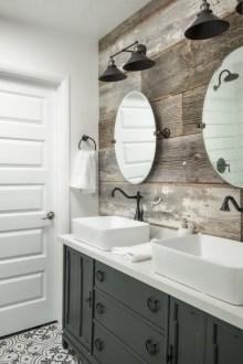 Beautiful Bathroom Mirror Design Ideas 29