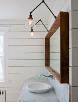 Beautiful Bathroom Mirror Design Ideas 34