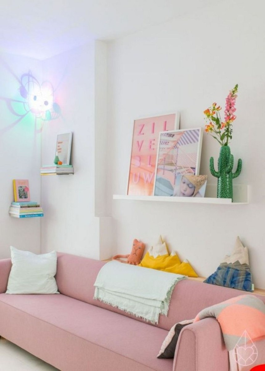 Beautiful Spring Decor Ideas With Pastel Color 30