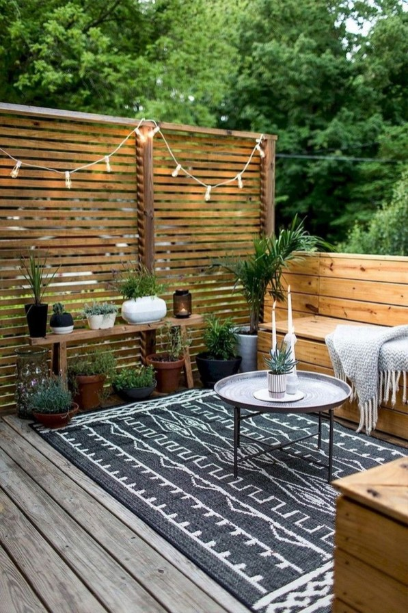 Popular Small Backyard Patio Design Ideas 41