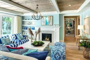 The Best Coastal Theme Living Room Decor Ideas 05