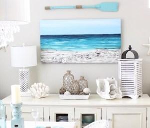 The Best Coastal Theme Living Room Decor Ideas 10
