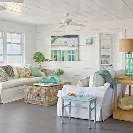 The Best Coastal Theme Living Room Decor Ideas 20