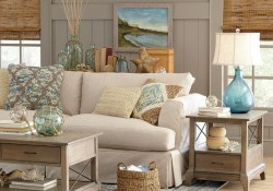 The Best Coastal Theme Living Room Decor Ideas 21