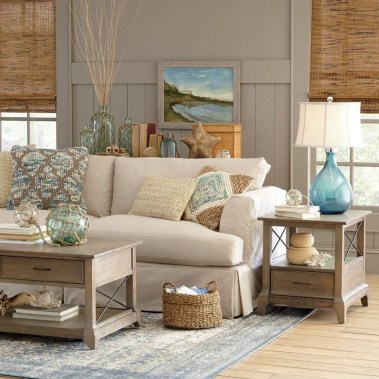 The Best Coastal Theme Living Room Decor Ideas 21