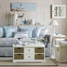 The Best Coastal Theme Living Room Decor Ideas 23