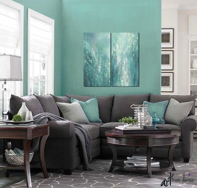 The Best Coastal Theme Living Room Decor Ideas 29