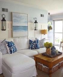 The Best Coastal Theme Living Room Decor Ideas 34