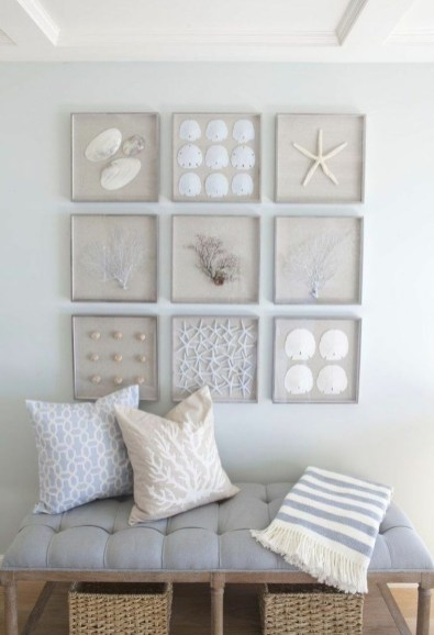 The Best Coastal Theme Living Room Decor Ideas 47