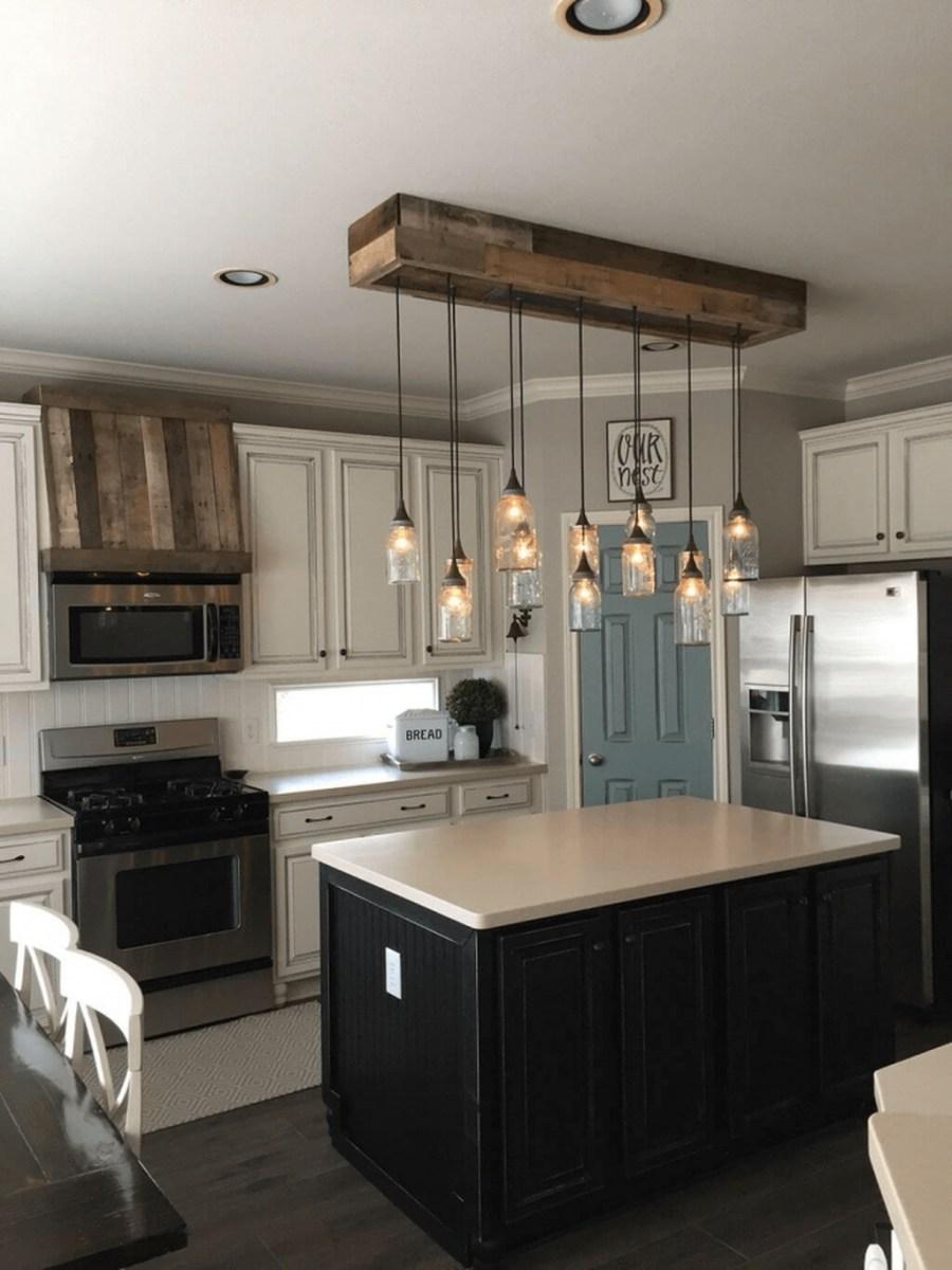 The Best Farmhouse Lights Design Ideas To Get A Vintage Impression 31