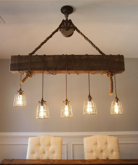 The Best Farmhouse Lights Design Ideas To Get A Vintage Impression 39