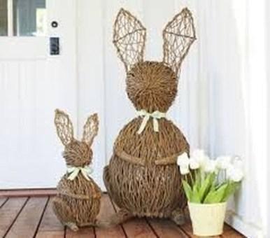 Best Easter Front Porch Decor Ideas 01
