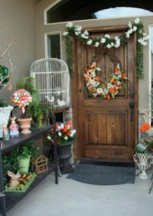 Best Easter Front Porch Decor Ideas 05