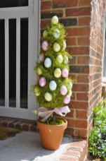 Best Easter Front Porch Decor Ideas 07