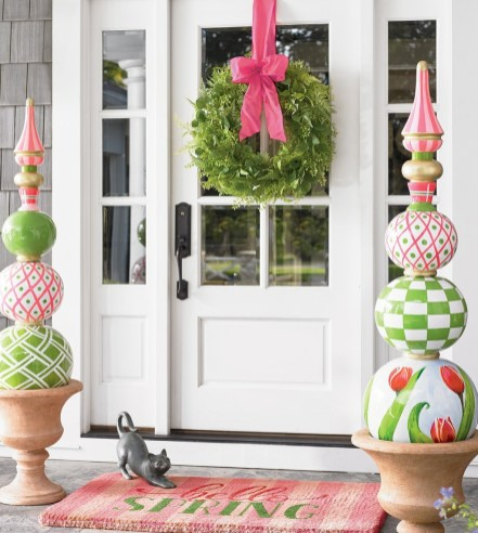 Best Easter Front Porch Decor Ideas 10