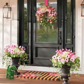 Best Easter Front Porch Decor Ideas 12