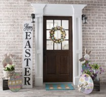 Best Easter Front Porch Decor Ideas 39