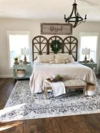 Elegant Farmhouse Bedroom Decor Ideas 12