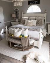 Elegant Farmhouse Bedroom Decor Ideas 35