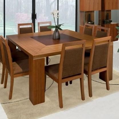 Elegant Modern Dining Table Design Ideas 08