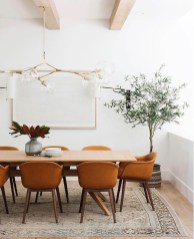 Elegant Modern Dining Table Design Ideas 12