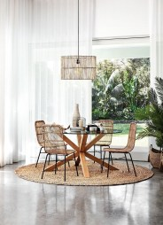 Elegant Modern Dining Table Design Ideas 18