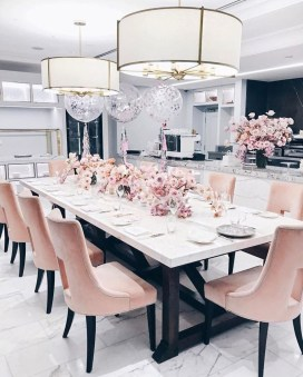 Elegant Modern Dining Table Design Ideas 24