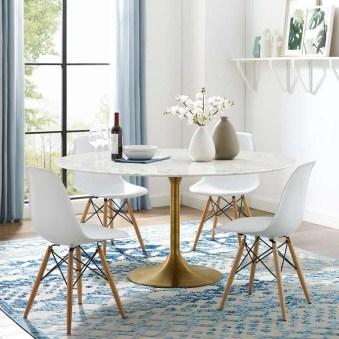Elegant Modern Dining Table Design Ideas 25