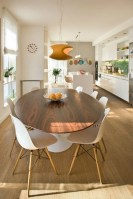 Elegant Modern Dining Table Design Ideas 28