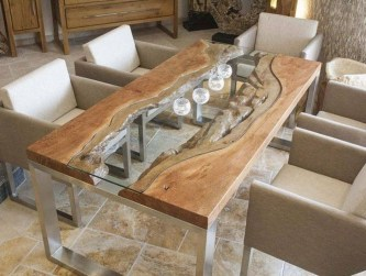 Elegant Modern Dining Table Design Ideas 39
