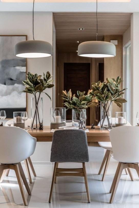 Elegant Modern Dining Table Design Ideas 47