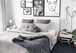 Gorgeous Modern Bedroom Decor Ideas 41