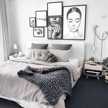 Gorgeous Modern Bedroom Decor Ideas 41