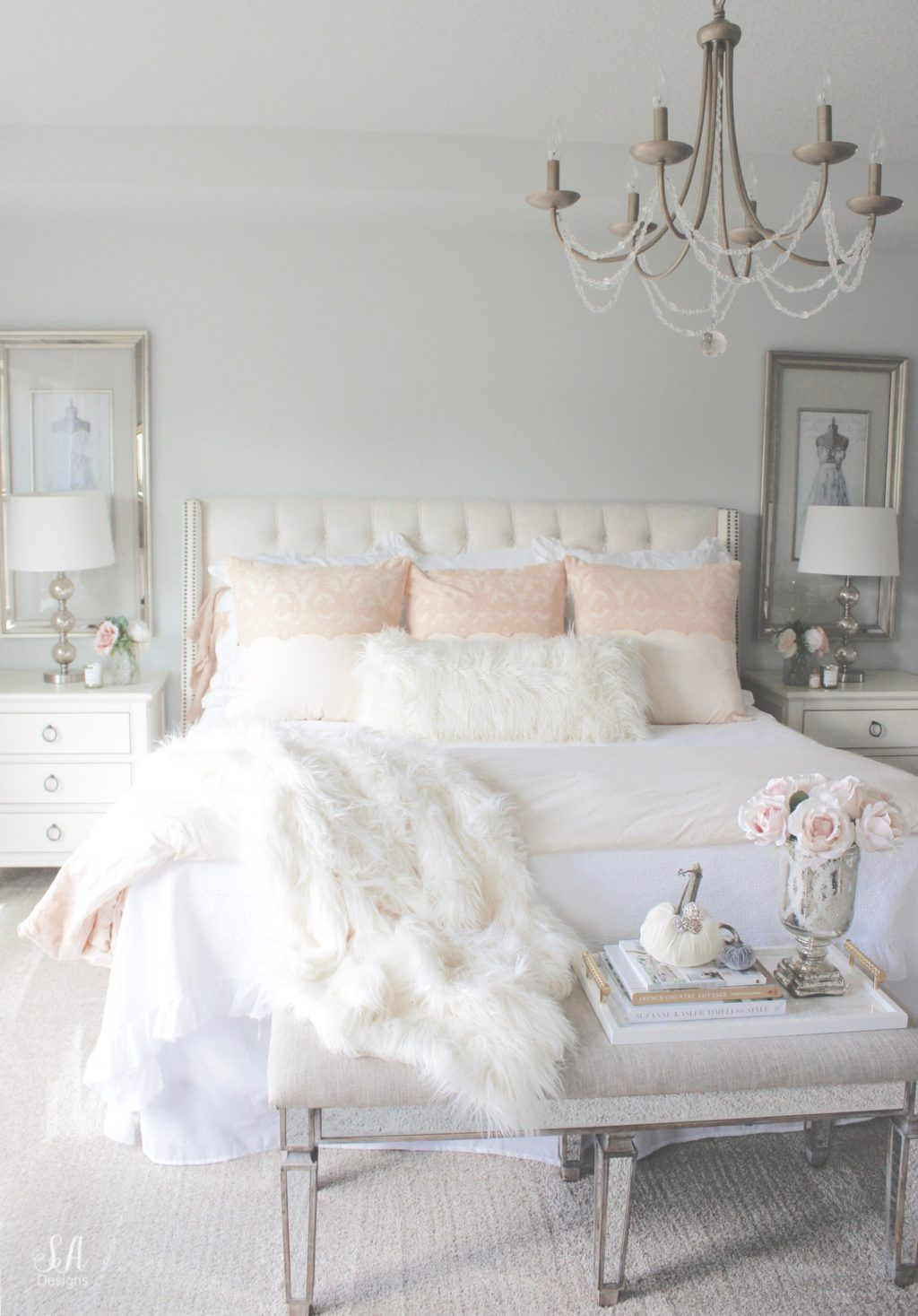 Amazing Winter Bedding Ideas To Get A Cozy Bedroom 26
