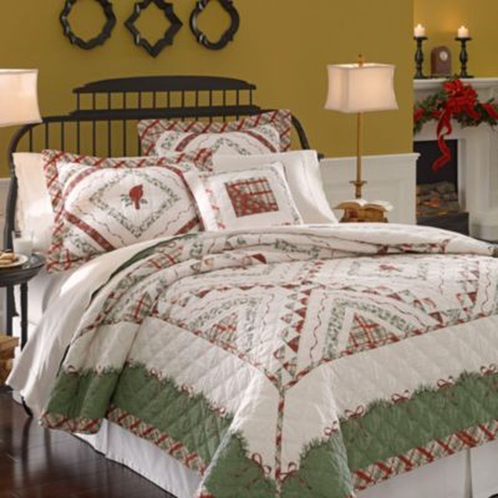 Amazing Winter Bedding Ideas To Get A Cozy Bedroom 48