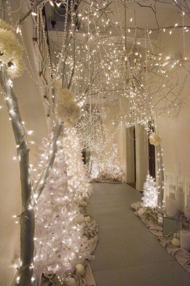 Beautiful Winter Wonderland Lighting Ideas For Outdoor And Indoor Decor 35