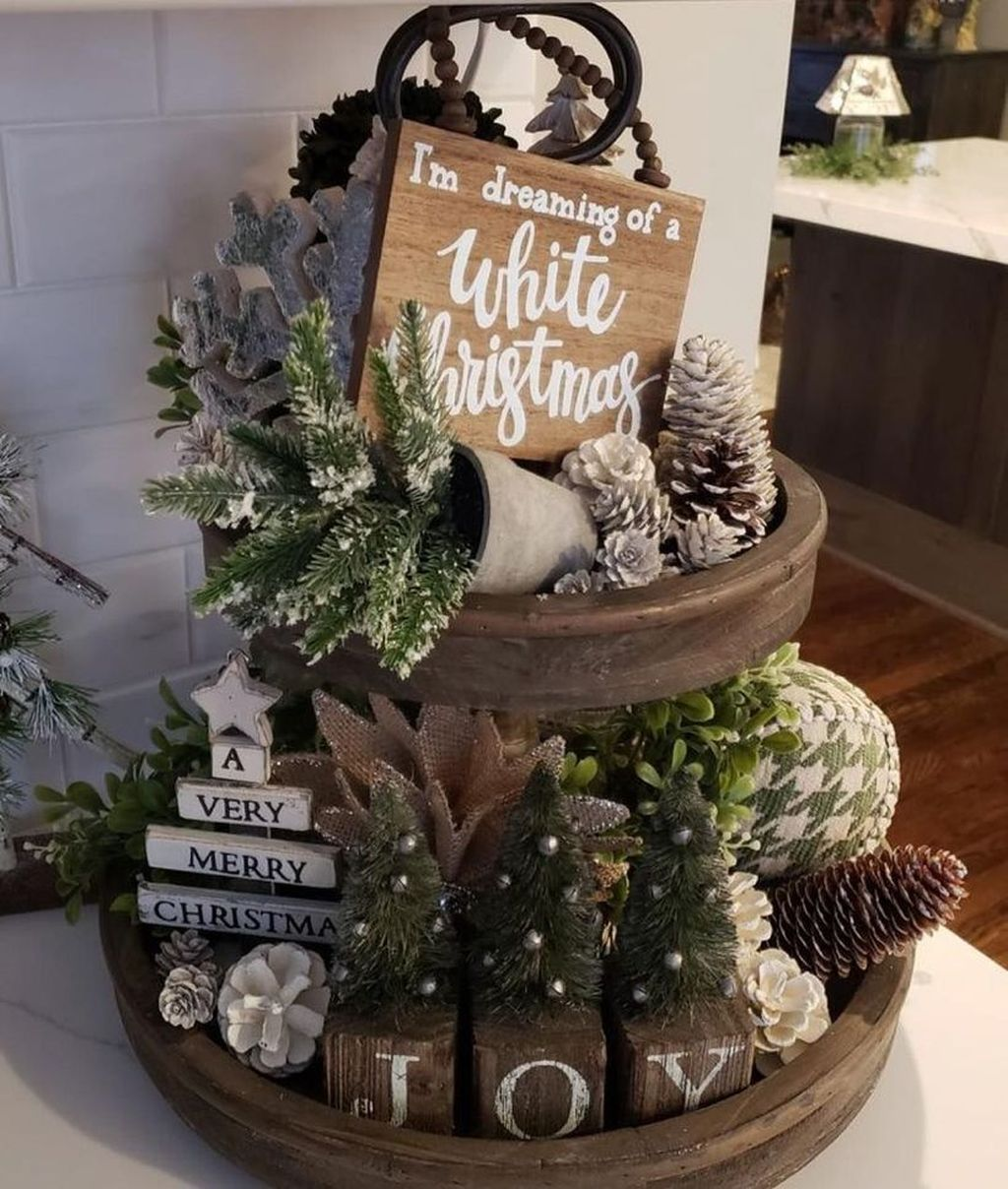 Inspiring Winter Kitchen Decor Ideas You Can Try 37