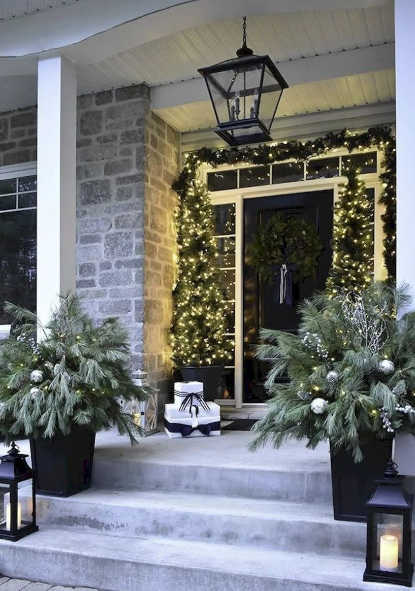 Popular Outdoor Decor Ideas For This Winter 19