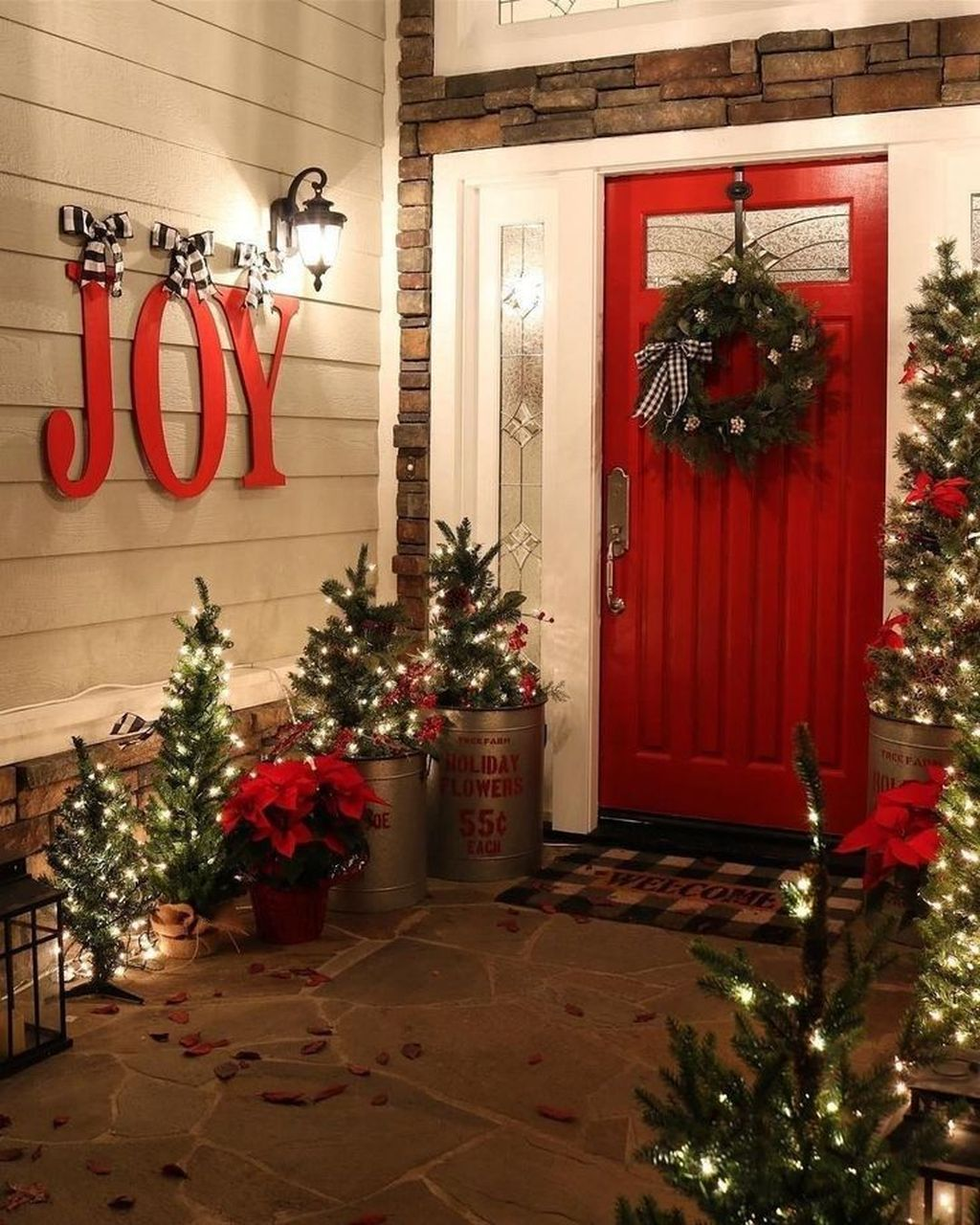 Popular Outdoor Decor Ideas For This Winter 37