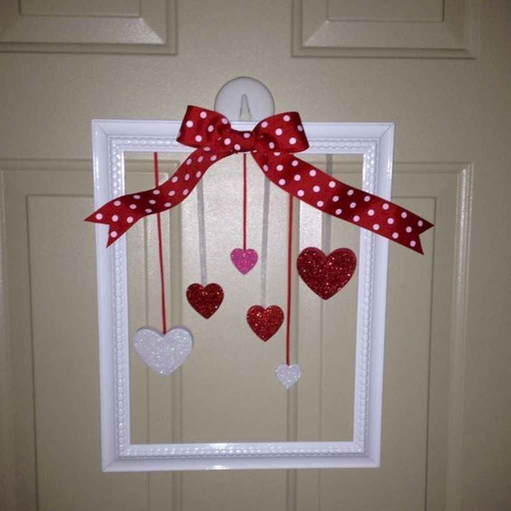 Inspiring Valentine Crafts Ideas For Your Home Decor 02