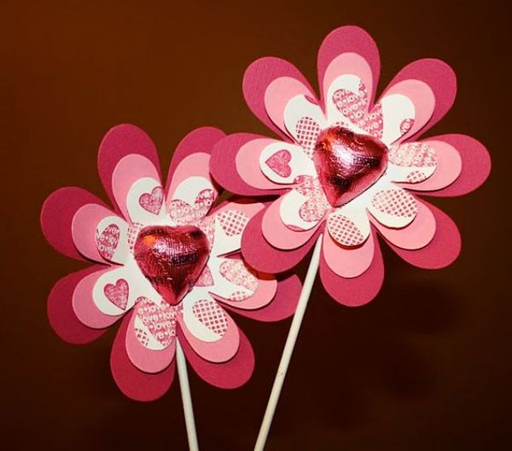 Inspiring Valentine Crafts Ideas For Your Home Decor 06