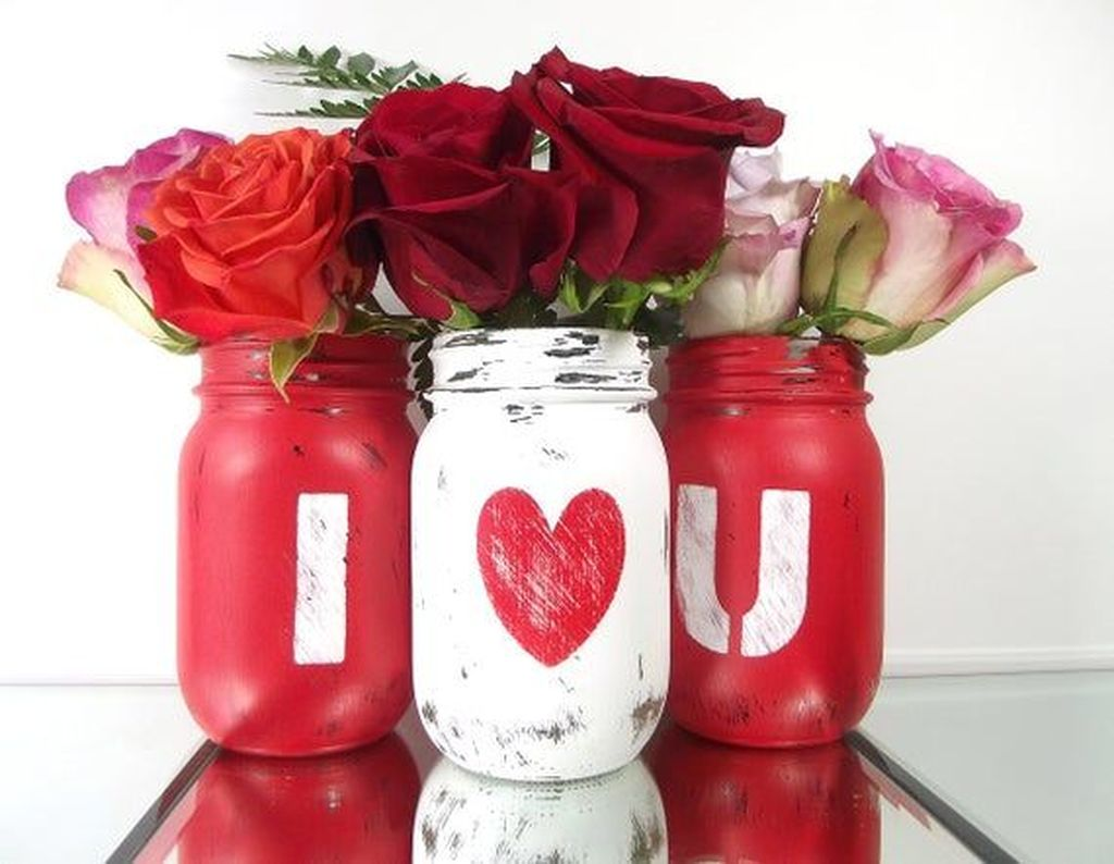 Inspiring Valentine Crafts Ideas For Your Home Decor 11
