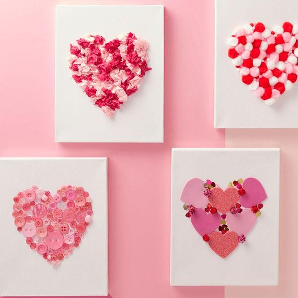 Inspiring Valentine Crafts Ideas For Your Home Decor 36