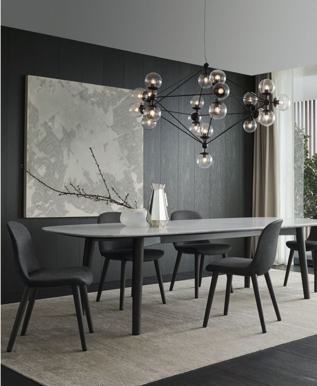 Popular Contemporary Dining Room Design Ideas 12
