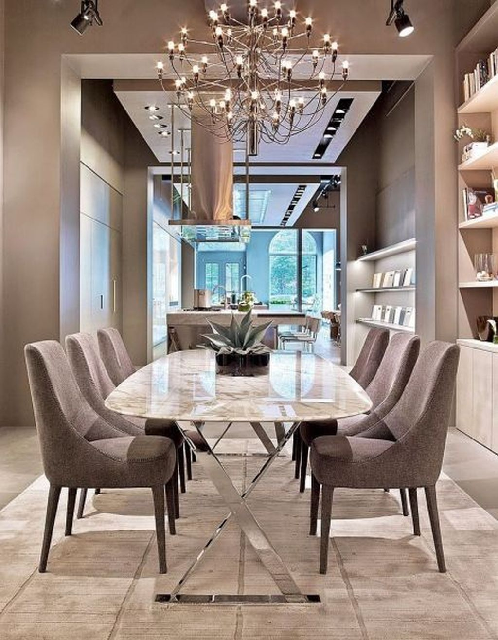 Popular Contemporary Dining Room Design Ideas 39