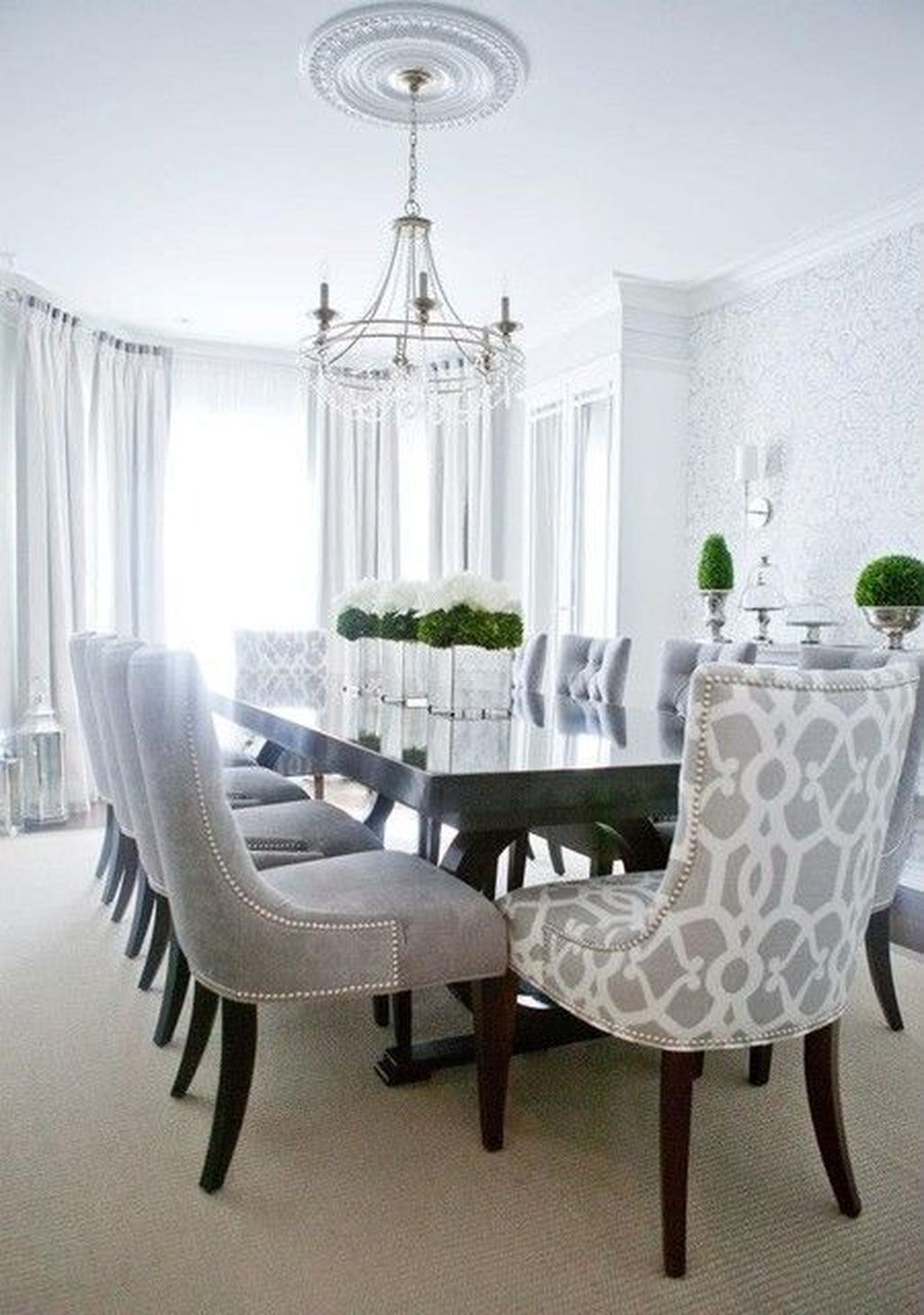 Popular Contemporary Dining Room Design Ideas 42