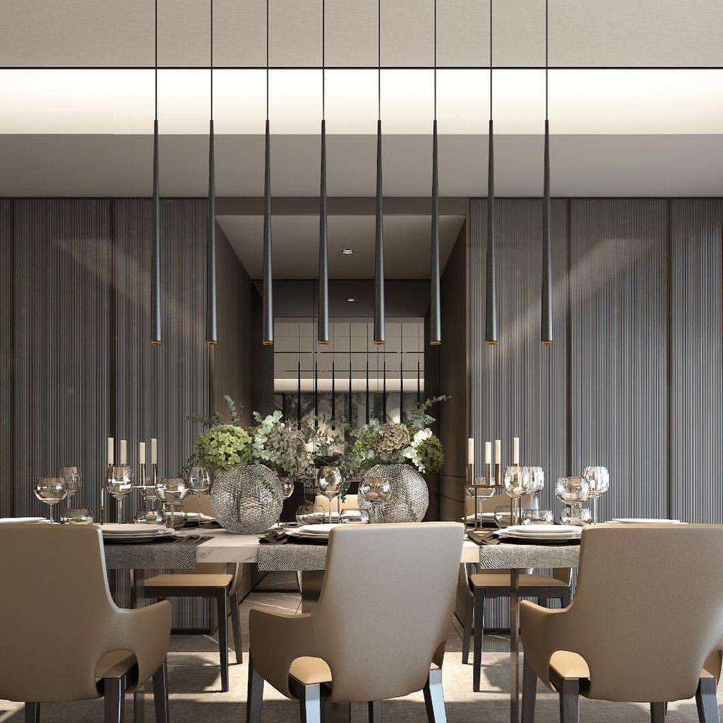 Popular Contemporary Dining Room Design Ideas 46