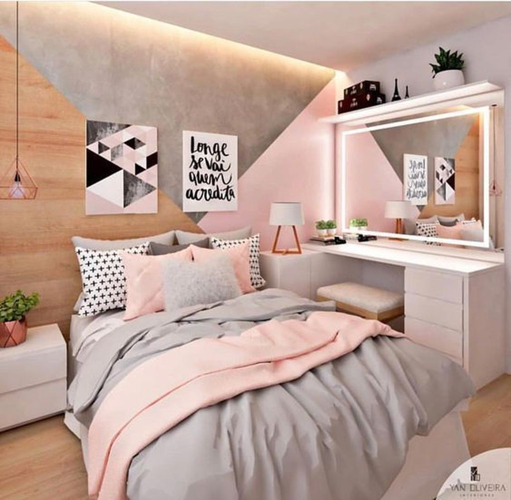 Admirable Small Bedroom Decor Ideas You Never Seen Before 04