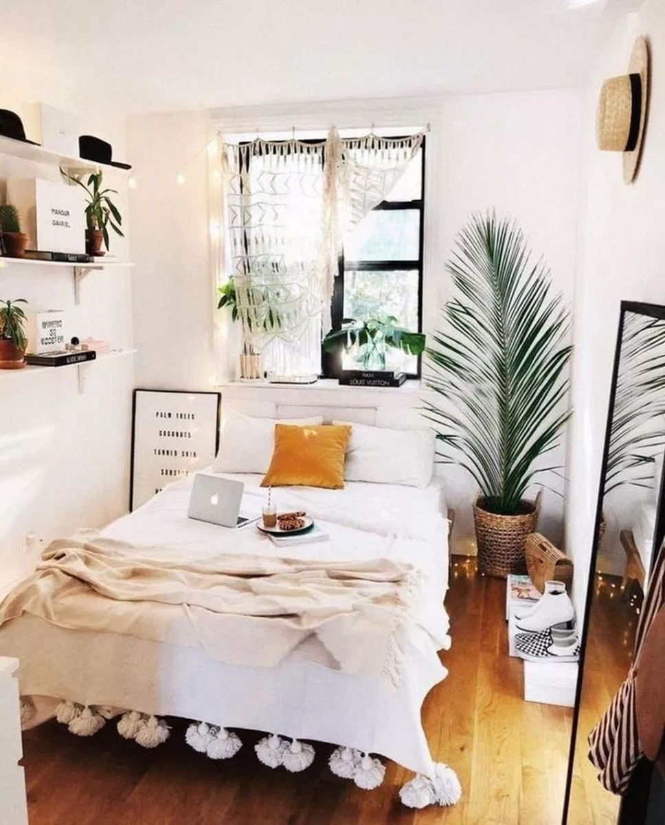 Admirable Small Bedroom Decor Ideas You Never Seen Before 18
